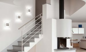 Idée lumineuse | MAGIC LED, une applique magique pour apporter un puit de lumière dans votre escalier